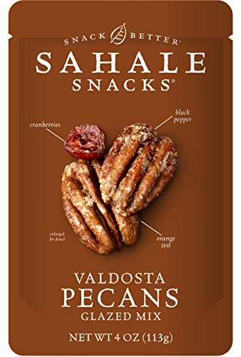 Sahale Snacks Valdosta Pecans Glazed Mix, 4 Ounce (Pack of 6)