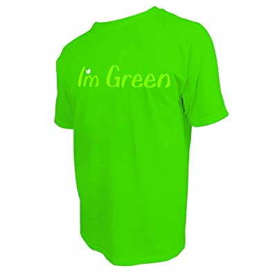 3B Scientific 100% Pre Shrunk Cotton I'm Green Medium Tee Shirt: Industrial & Scientific