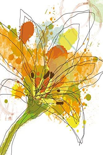 Portfolio Canvas Décor 'Gold Blossom II' by Jan Weiss  24x36x1.5, 1 Piece Canvas Wall Art