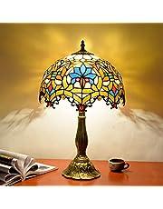 Europese creatieve tiffany tafellamp glas schilderij woonkamer slaapkamer restaurant bar hotel decoratie nachtkastje lamp glazen lamp,tischlampen schlafzimmer