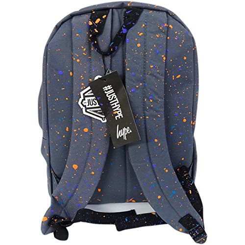 Just Hype hype bag kit - Bolso al hombro de Poliéster para hombre Talla única Splatter Primary Grey