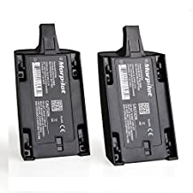 [Upgrade] 2 Pcs Morpilot® 1700mAh 11.1V LiPo Powerful Battery Pack for Parrot Bebop Drone 1.0 Quadcopter Parts