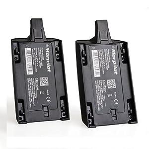 [Upgrade] 2 Pcs Morpilot 1700mAh 11.1V High Capacity Rechargeable Battery...