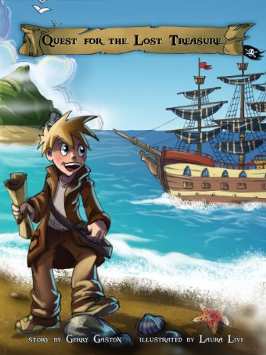 """Check Out Today's KFKND Book of the Day on Your Kindle Fire: Quest for the Lost Treasure – """"Choose Your Own Path"""" Pirate Adventure! by Gerry Gaston"""
