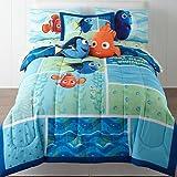 Finding Dory ''Marine Adventure'' Twin / Full Bedding Comforter - Dory and Nemo Just Keep Swimming - W/Bonus Sham