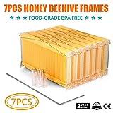 King Showden 7Pcs Auto Beehive Frame Comb, Auto