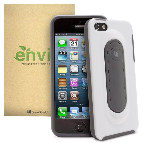 GreatShield Guardian Snap Stand case for iPhone 5/5s/SE - Grey