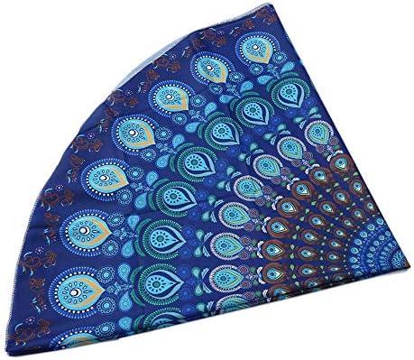 ningbao951 Toalla India Redonda única Bufanda Moda Mandala Playa ...