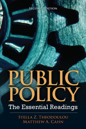 Public Policy: The Essential Readings (2nd Edition)