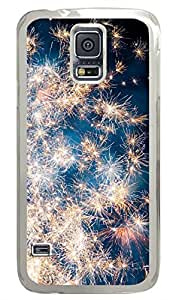 Brian114 Samsung Galaxy S5 Case, S5 Case - Fashion Crystal Clear Hard Case for Samsung Galaxy S5 Star Field Waterproof Back Hard Case for Samsung Galaxy S5 I9600