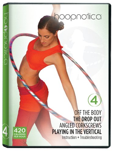Hoopnotica Fitness Hoopdance Hula Hoop DVD Level 4 (Intermediate)