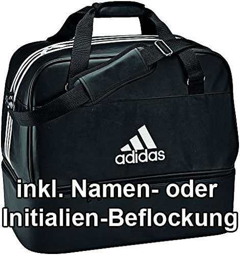 262df04ca8d7a Leder Mit Bodenfachd83081InklNamen Adidas Sporttasche Teambag F3lcTK1J