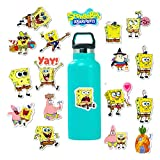 50 Pcs American Animation Spongebob Stickers for Water Bottle Laptop Car Motorcycle Bicycle Bike Skateboard Luggage Baggage Box Decal Graffiti Patches