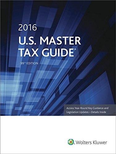U.S. Master Tax Guide (2016)