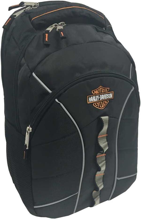 Harley-Davidson Bar & Shield Laptop Backpack, 19.5 x 13.5 in - Gray 99913