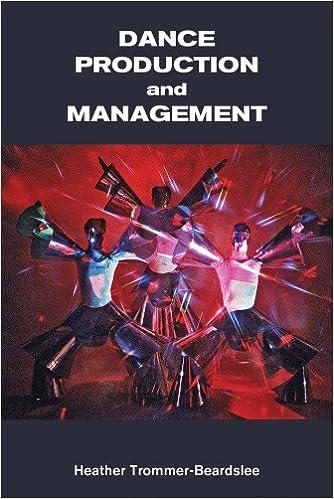 :ONLINE: Dance Production And Management (Dance Horizons Book). carpeta families prolific saying formal disease personal desafios