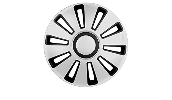 Amazon.com: Lampa 31508 Silverstone Set of Hub Caps, 16 Inches: Automotive