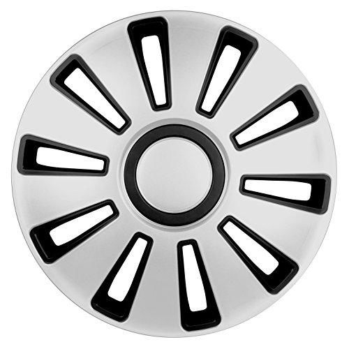 Lampa 31506 - Juego de tapacubos (14 Pulgadas), Color Plateado: Amazon.es: Coche y moto