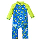UV Skinz UPF 50+ Baby Boys Sun & Swim Suit- Lime