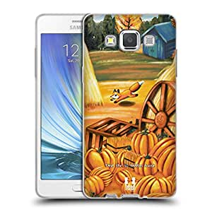 Head Case Designs Pumpkins 10 Veiled Foxes Soft Gel Case for Samsung Galaxy Note 4
