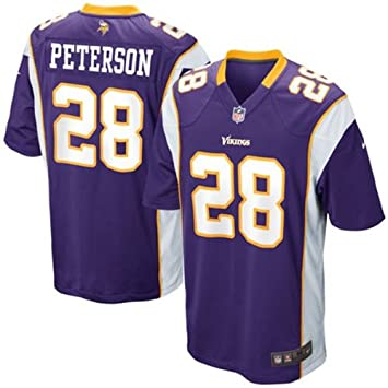 new style 82543 73f26 Adrian Peterson Minnesota Vikings #28 NFL USA Youth Kids Jersey Purple