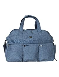 Lug Airbus Weekender Bag Overnight Duffel, Heather Navy, One Size