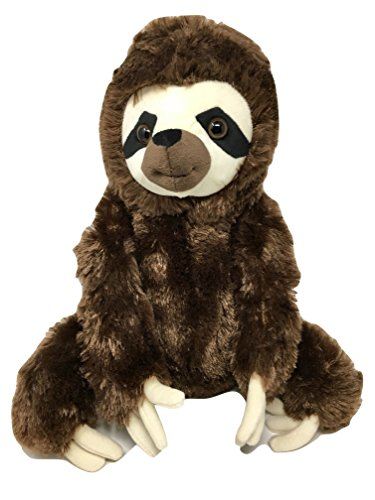 Whole Llama Love Sitting Sloth   15  Adorable 3 Toed Large Plush Toy   With Matching 1 25  Pin   Super Soft   Cuddly Stuffed Animal  The Perfect Sloth Lover Gift