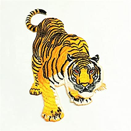 Amazon Patch Portal Tiger Embroidery Patches Iron On 6 Inch