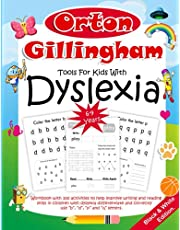 Orton Gillingham Tools For Kids With Dyslexia. Workbook with 100 activities to help improve writing and reading skills in children with dyslexia ... letters. 6-9 years. Black & White Edition.