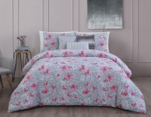 Avondale Manor Ellie 6-piece Comforter Set, Queen, Pink ()
