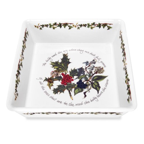 (Portmeirion The Holly & The Ivy Square Baker)