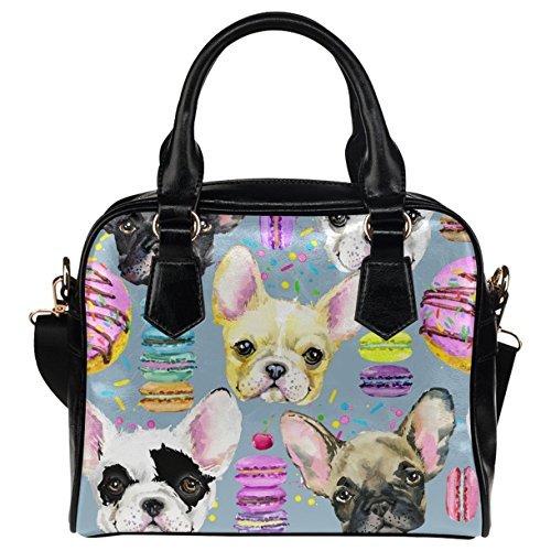 french bulldog messenger bag - 7