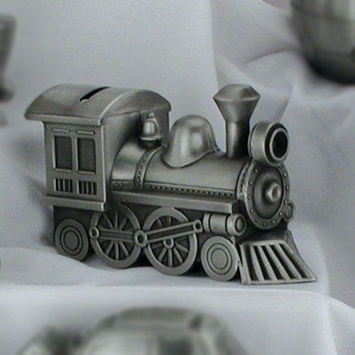 Train Metal Bank (Engravable Train)