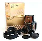 RARE 300 LIMITED MAMIYA RB67 PRO S GOLD LIZARD SEKOR C W/ 90MM F3.8 LENS