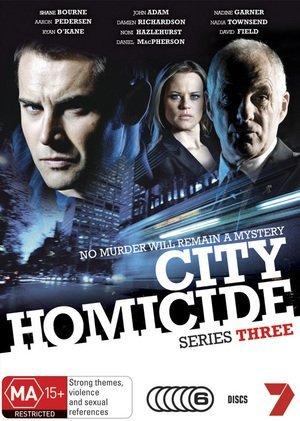 City Homicide promo sheet