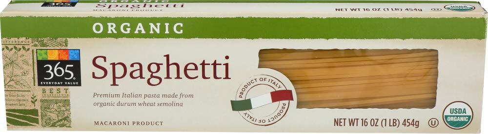 365 Everyday Value, Organic Spaghetti, 16 oz