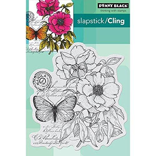 Penny Black 40-276 Botanical Notes Decorative Stamp by Penny Black