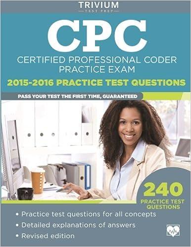 CPC Practice Exam 2015-2016: Certified Professional Coder Practice ...