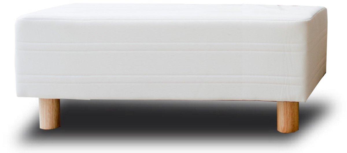 イーユニット ベッド屋さんが作った ベンチソファ スツール 日本製 (サイズ:シングル幅97cm カラー:ライトブラウン) B00CR9VUAQ シングル幅97cm|ライトブラウン ライトブラウン シングル幅97cm