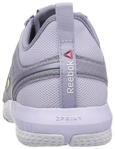 Fog Lilac Reebok Zprint Purple White Lucid Shoe Walking 3D Women's xwHwqY87