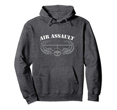 Unisex Army Air Assault Hoodie - 20460 Large Dark Heather ()