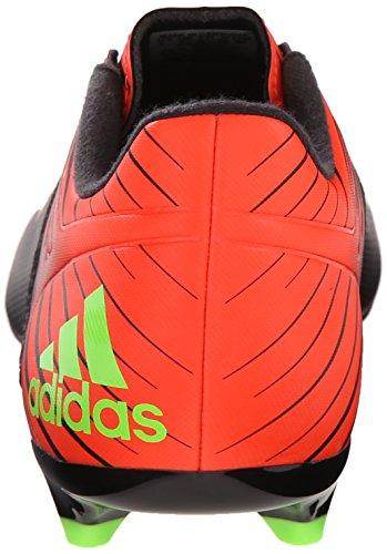 adidas Performance Herren Messi 15.3 Fußballschuh Schwarz / Shock Green / Solar Rot