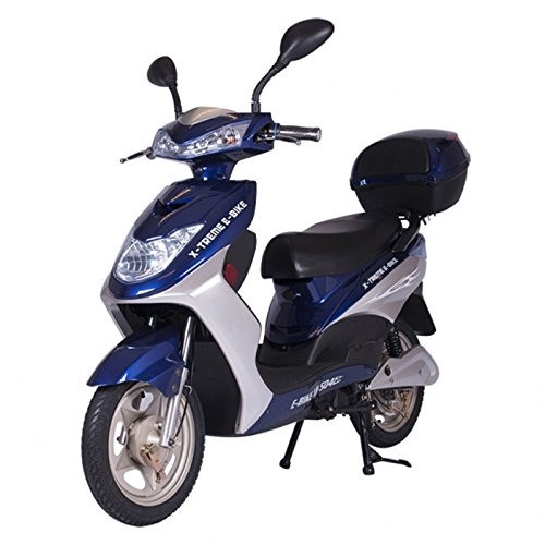 Xtreme Xb 500 Electric Scooter (X-Treme Scooters XB-504 Electric Bicycle44; Blue)
