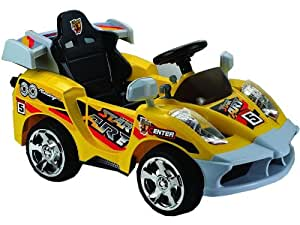 Mini Motos Star Car 6v Yellow (Remote Controlled)