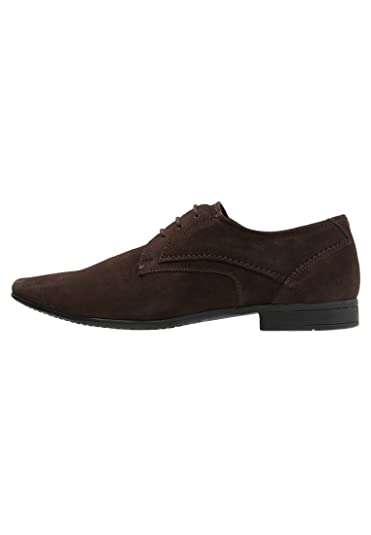Leather Brogues In Black - Black Pier One wx2zA