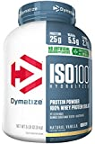 Dymatize ISO 100 Whey Protein Powder Isolate, Natural Vanilla, 5 lbs
