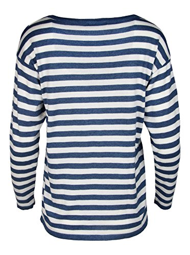 Zwillingsherz - Jersey - para mujer azul marino