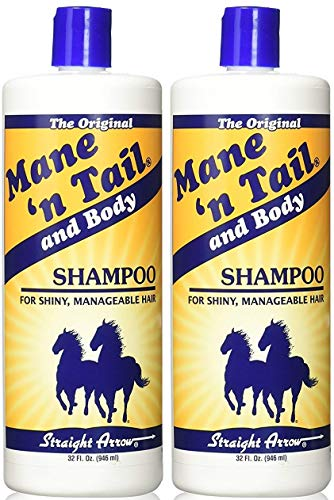 Mane N Tail Shampoo For Horses 32 Ounce (2 Pack)