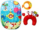 Tiny Love Tummy Time Under The Sea Playmat Review
