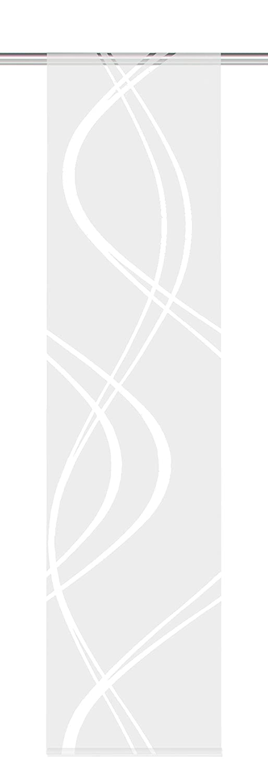 60/cm Scherli/ /Panel japon/és con decoraci/ón Home Fashion 87462/ 245/x B /710/wollwei/ß H
